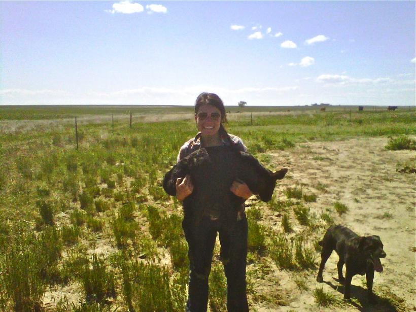 At the ranch in Colorado