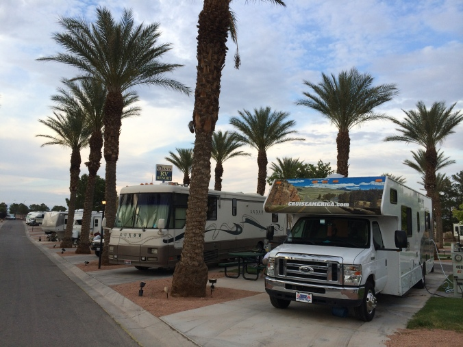 RV Parking at Oasis Las Vegas
