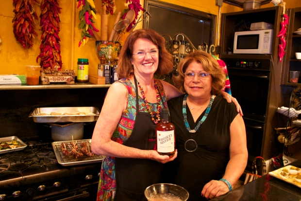 Tina Clark and Rosa Whiskey Sister