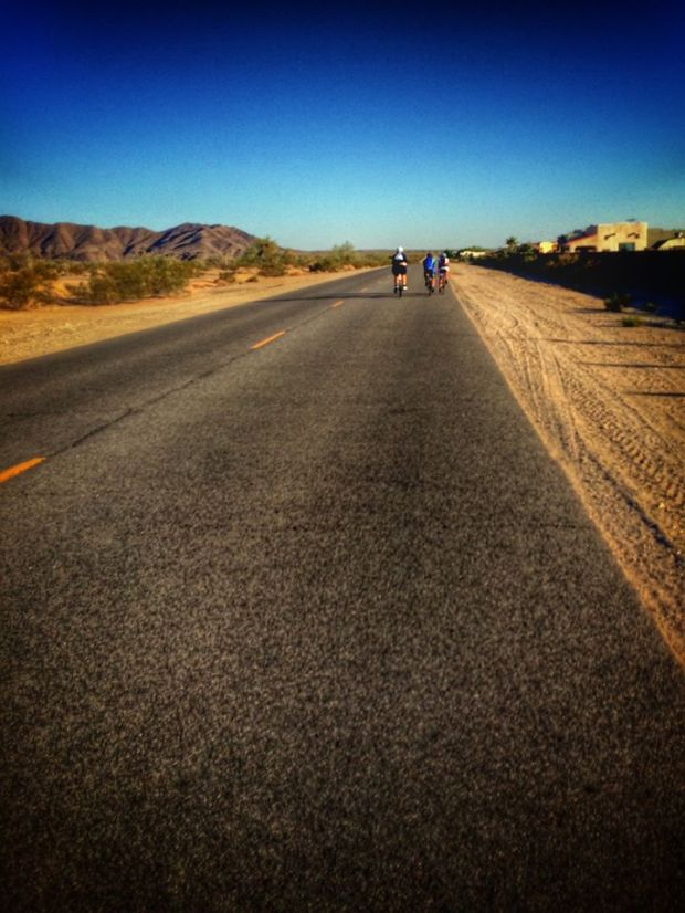 Yuma Foothills Cycling