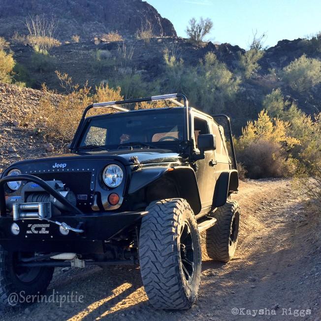 Jeep Wrangler Arizona Big Eye Mine Cabin