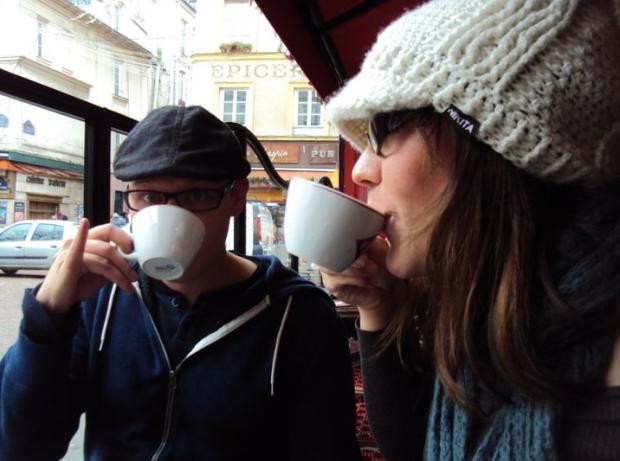 Coffees in Paris, in the Latin Quarter
