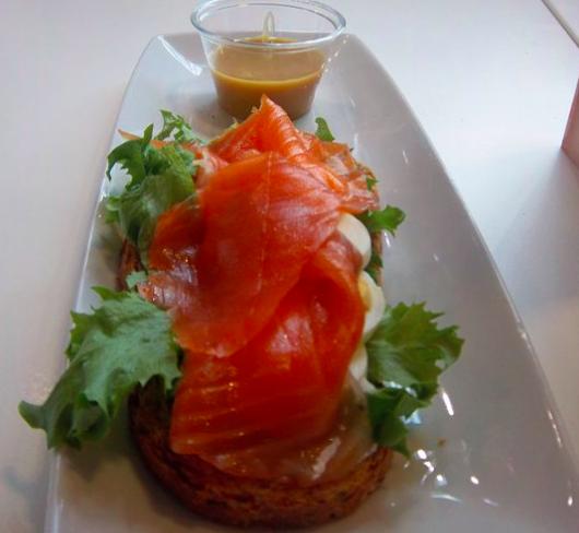 Salmon in Rekjavik
