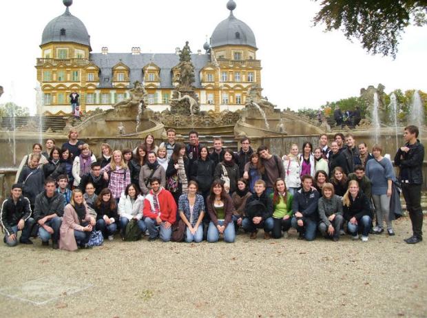 Fellow Study Abroad Students at Bamberg - Schloss Seehof