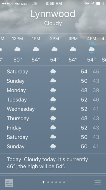 Lynnwood Rain
