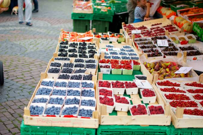 Bern Switzerland Produce