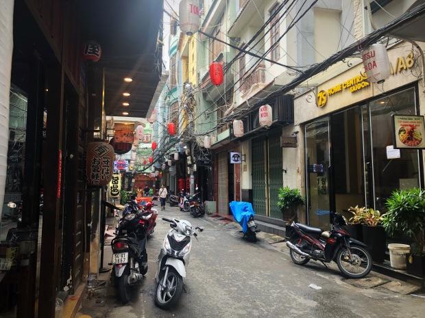 HCMC Hotel Alley