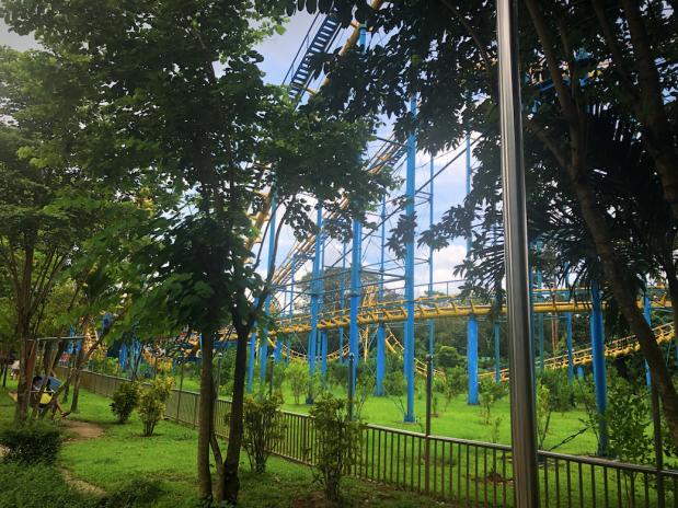 Peoples Park Rollercoast